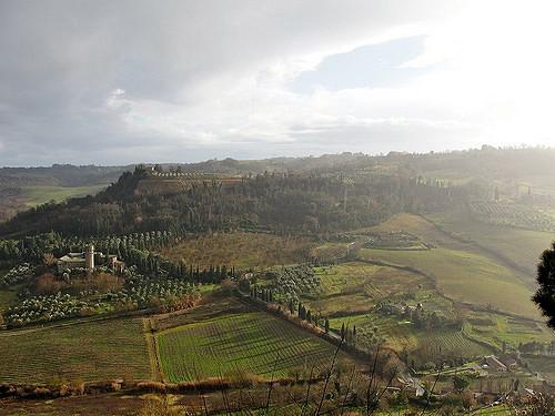 Italia-Orvieto Panorama