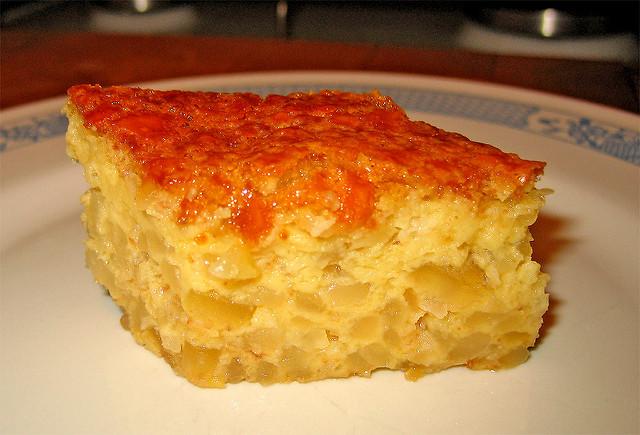 Bologna torta di riso