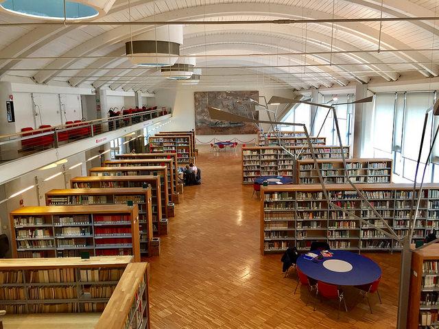 © Bibliowelten Andreas Mitt - Biblioteca San Giorgio